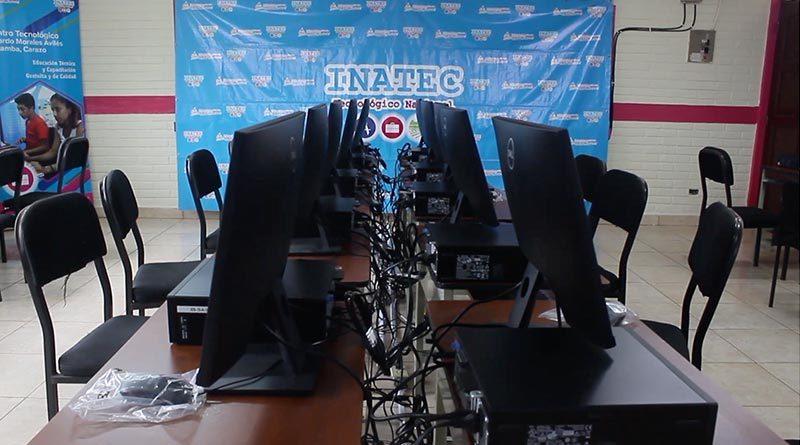 Nuevo laboratorio de computación en el Centro Tecnológico Ricardo Morales Avilés en Diriamba.