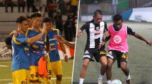 Managua FC y Cacique Diriangén entrenando de cara a la final del Torneo Clausura de Liga Primera.