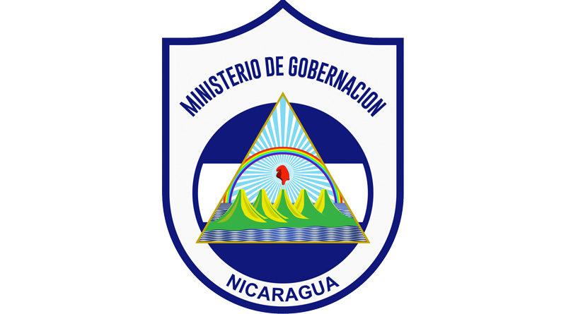 Emblema del Ministerio de Gobernación de Nicaragua