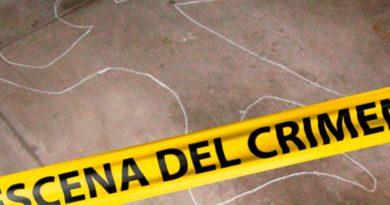 Cinta policial en escena del crimen