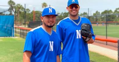 Jugadores de la Selección de Béisbol de Nicaragua que jugará en el Preolímpico de las Américas contra Estrados Unidos.