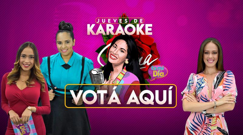 Aquí podes votar en el Karaoke en homenaje a Selena Quintanilla de Es Mi Día