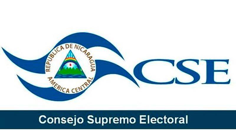 Logo del Consejo Supremo Electoral de Nicaragua