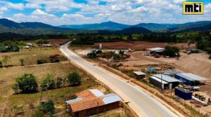 carretera entre Ococona - Cualiguate en Macuelizo, Nueva Segovia