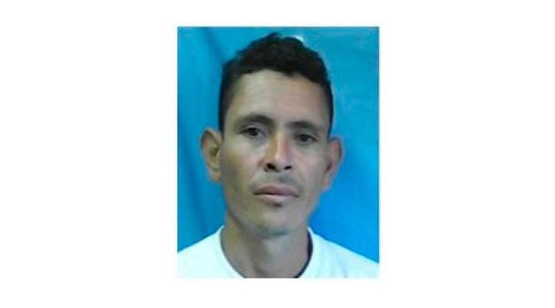 Delincuente Oscar Manuel García Flores, autor de muerte homicida en comunidad Santa Emilia, Matagalpa.