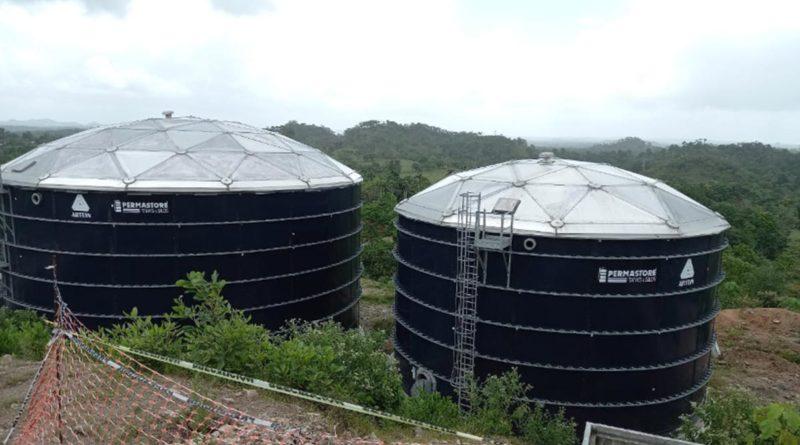 Construcción de dos pozos de agua