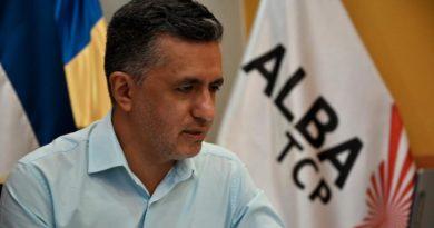 Compañero Sacha Llorenti, secretario ejecutivo de Alianza Bolivariana para los Pueblos de Nuestra América – Tratado de Comercio de los Pueblos (ALBA-TCP).