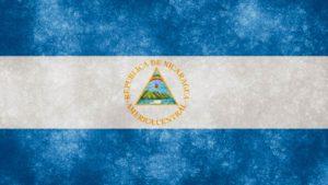 Bandera de Nicaragua.