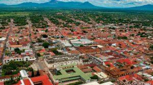 Vista panorámica de la ciudad de León