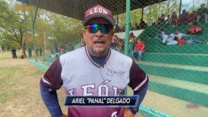 Ariel Delgado, pelotero nicaragüense