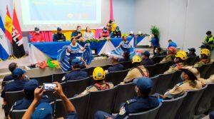 Bomberos Unificados de Nicaragua y Bomberos Unidos Sin Fronteras (BUSF), de España