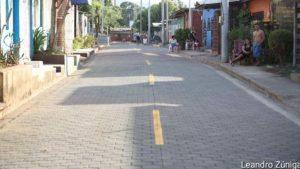 Calle inaugurada por la Alcaldía de Ciudad de Sandino