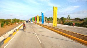 Carretera Sábana Grande - El Pique, recién inaugurada por la Alcaldía de Managua