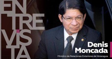 Canciller Denis Moncada: En Nicaragua sufrimos ataques mediáticos de forma sistemática