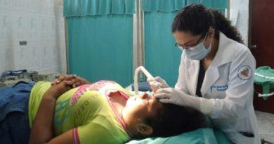 Paciente realizando cirugía en Centro Nacional de Dermatología