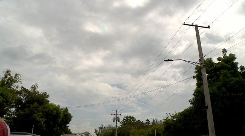 Cielo de Managua nublado.