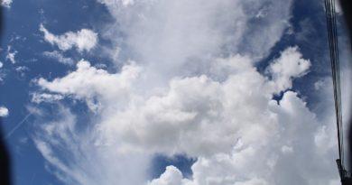 Este jueves predominará el ambiente caluroso y lluvias con mayor ocurrencia por la tarde.