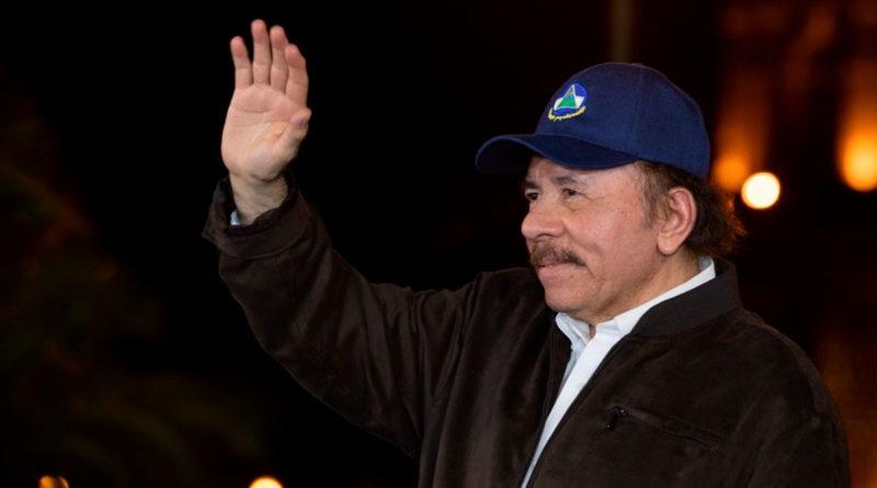 Presidente de Nicaragua, Comandante Daniel Ortega Saavedra.