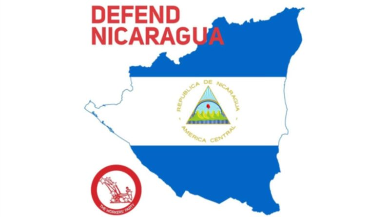 Declaración del Partido de los Trabajadores de Irlanda en apoyo a Nicaragua