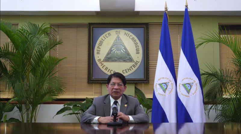 Canciller de Nicaragua, Denis Moncada Colindres
