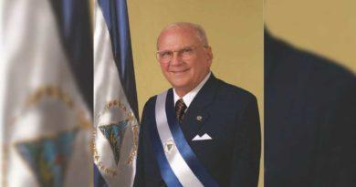 Gobierno de Nicaragua decreta tres días de duelo por el fallecimiento del expresidente Enrique Bolaños Geyer