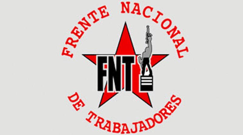 Logo del Frente Nacional de los Trabajadores de Nicaragua