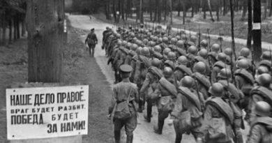 Con motivo del 80° Aniversario del inicio de la Gran Guerra Patria