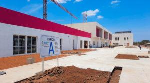 Infraestructura del nuevo Hospital de Chinandega, Nicaragua