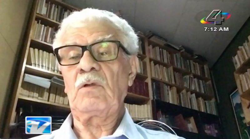 El compañero Humberto Vargas Carbonell, secretario general del Partido Vanguardia Popular de Costa Rica.