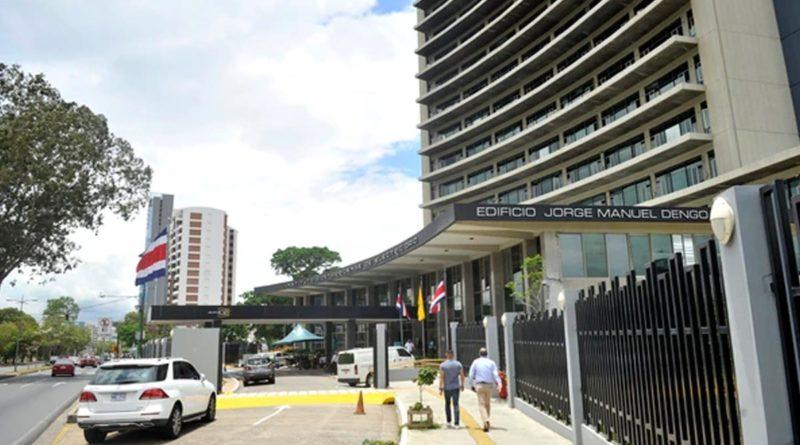 Edificio Jorge Manuel Dengo, sede central del Instituto Costarricense de Electricidad ICE, en Sabana Norte