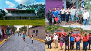 Proyectos que inaugurará esta semana las Alcaldías sandinistas en Nicaragua.