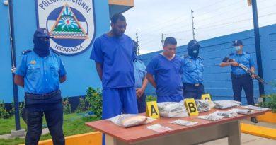 Delincuentes capturados por la Policía Nacional