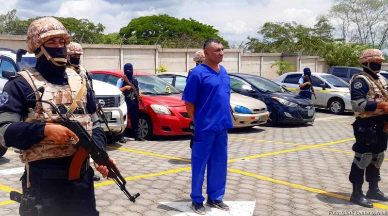 Delincuente David Elías Campbell Licona circulado por la INTERPOL y capturado en Nicaragua