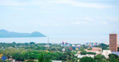 Vista panoramica de Managua