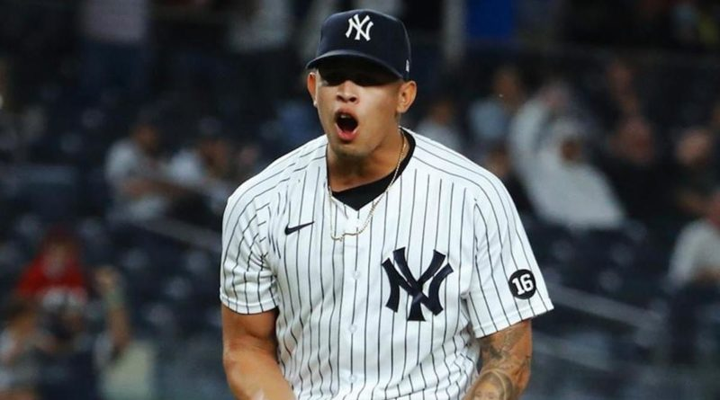 Jonathan Loáisiga anota su octavo relevo perfecto consecutivo con los Yankees.