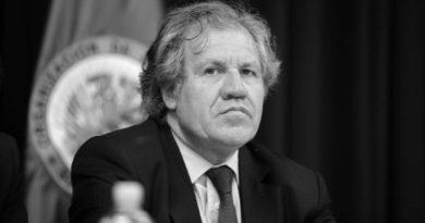 Secretario General de la Organización de Estados Americanos (OEA) Luis Almugre