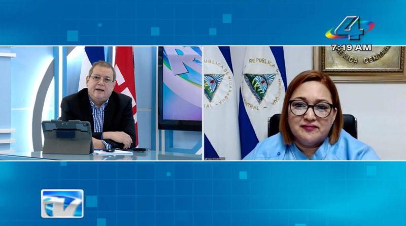 Magistrada Brenda Rocha, Presidente del Consejo Supremo Electoral.