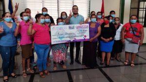 Emprendedores de Managua reciben nuevo desembolso por parte del MEFCCA