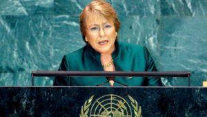 Michelle Bachelet, Alto Comisionado de la ONU para la Defensa del Crimen Organizado