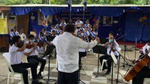 Orquestas del Ministerio de Educación (MINED), se preparan para las celebraciones de esta semana