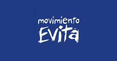 Logo del Movimiento Evita de Argentina