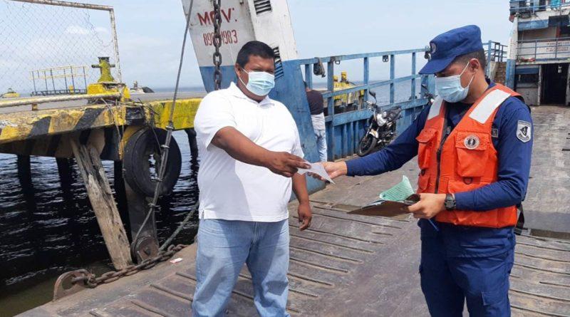 La Fuerza Naval, en el período del 11 al 17 de junio de 2021, brindó protección, seguridad e inspección a embarcaciones y flota pesquera industrial que zarparon en los principales puertos marítimos, lacustres y fluviales.