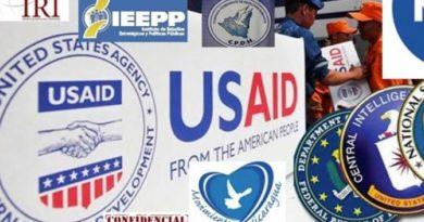 Fotografía que muestra las múltiples plataformas que utiliza los Estados Unidos para la injerencia extranjera