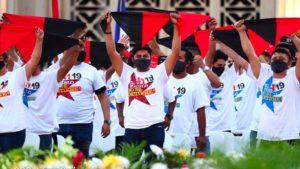 Nicaragua, sabe de luchas y de honor