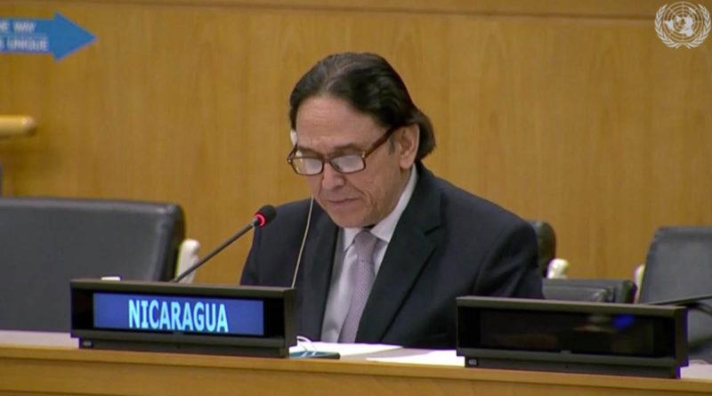 Jaime Hermida Castillo, Representante de Nicaragua ante las Naciones Unidas