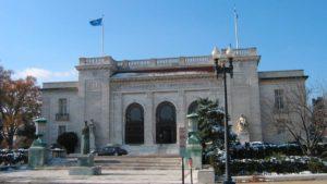 Instalaciones de la Organización de Estados Americanos (OEA).