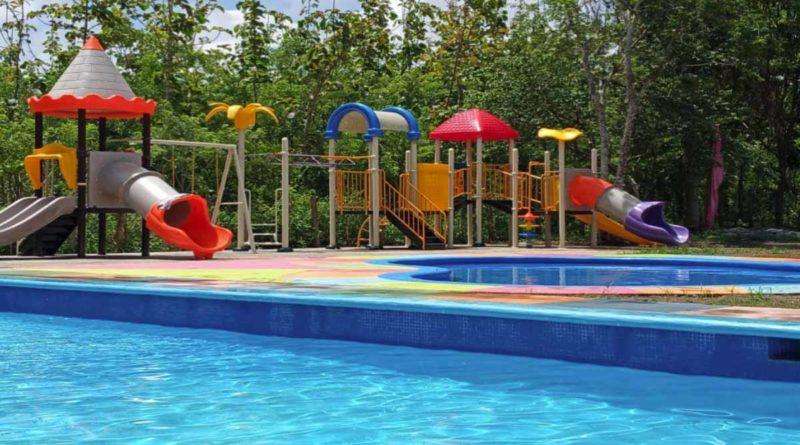 Piscinas del parque acuático en Niquinohomo