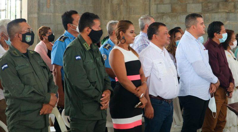 Ejército de Nicaragua participa en la toma de posesión del Obispo de Siuna