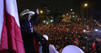 Pedro Castillo, Presidente Electo de Perú