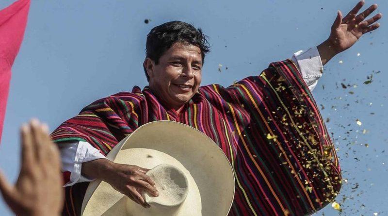 Presidente Electo del Perú, Pedro Castillo